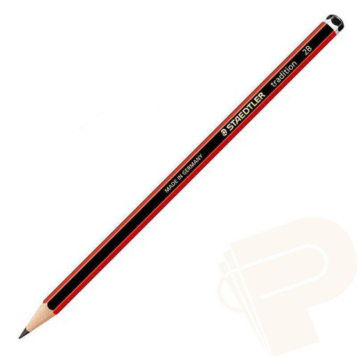 STAEDTLER PENCIL LEAD STAEDTLER TRADITION 2B CARD 5 ( BX10 )