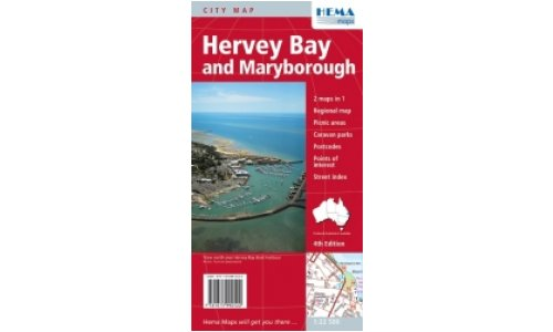 Map Hema Hervey Bay and Maryborough