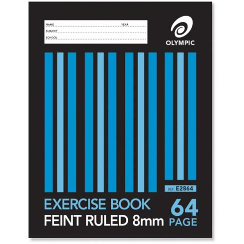 Exercise Book - Olympic - 225x175mm - 64 Page