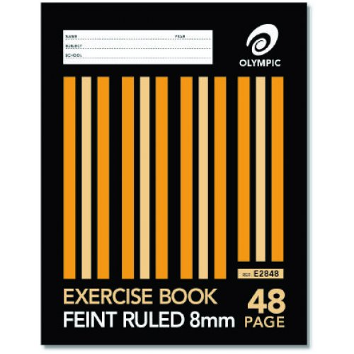 Exercise Book - Olympic - 225x175mm - 48 Page