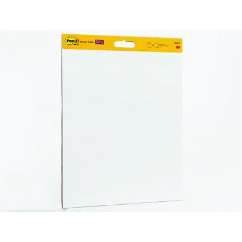 3M Post-It Super Sticky Wall Pad 566 White 508x610 (2 Pack)