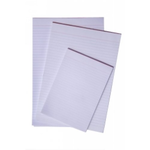 Office Pads - Quill - A4 - Bond Ruled - D/sided - 100 Lf