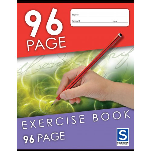 Exercise Book - Sovereign - 225x175mm - 96 Page