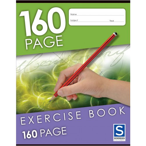 Exercise Book - Sovereign - 225x175mm - 160 Page