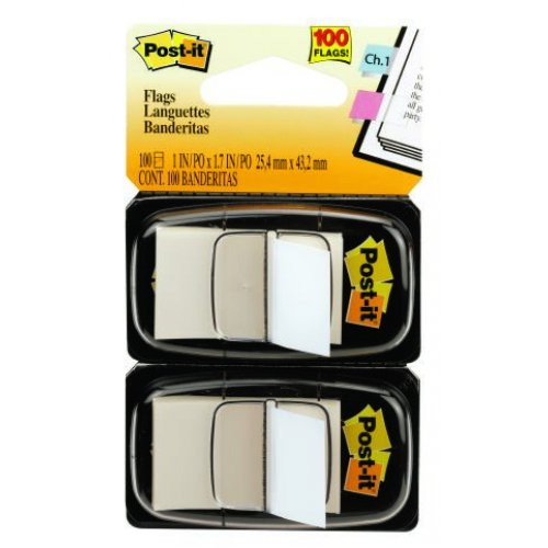 Post- It Flags 680-we2 White Twin Pack