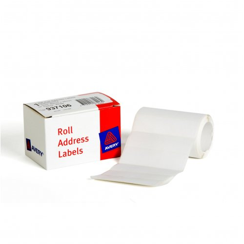 Label Avery Roll Address Labels 89x24 DMR8924RA (Box of 250)