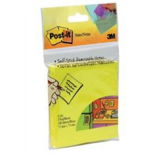 Post- It Notes 654hb 73x73 Neon Citrus (100 Sheet Pad)