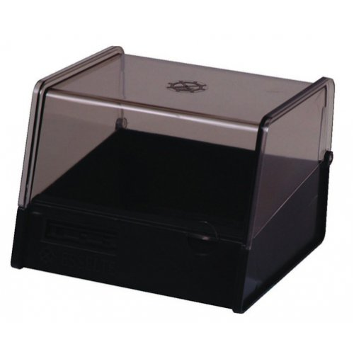 System Card Box Esselte 152x102mm (6x4) Charcoal