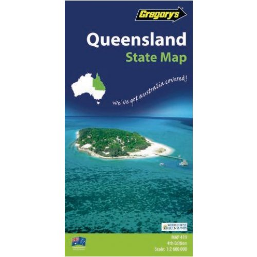 Map - Gregory's - Queensland 419 - 6th Edition
