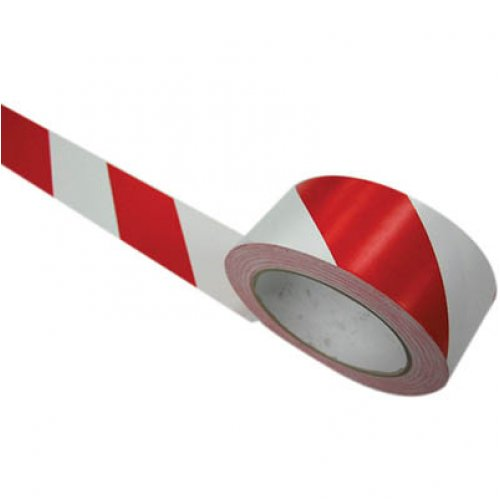 Lane Marking Tape - Stylus - 471 PVC - 48mm x 33m - Red/White