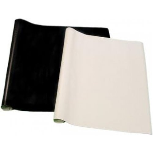 Book Covering Self Adhesive Solid Black 1mx45cm