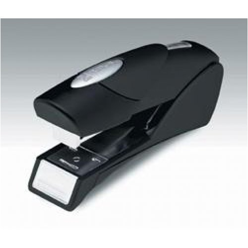 Stapler Rexel Gazelle Half Strip Black 25 Sheet